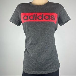 Adidas Climalite Grey T-Shirt - Size S - Excellent